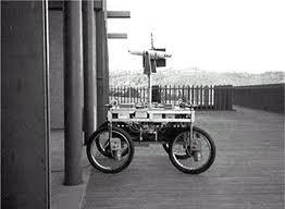 """Hans Moravec model """"smart car"""""""