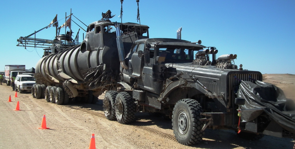 Mad Max Re Boot With New Vehicles Is Turning Heads