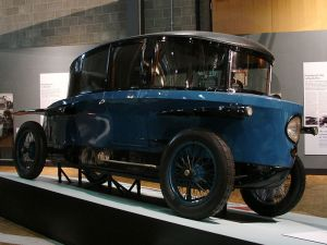 The 1920s Rumpler Tropfenwagen served as an inspiration for the VW bus.