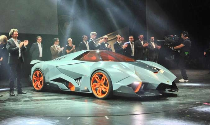 Lamborghini Egoista Heads To Lambo Museum 4wheel Online Blog