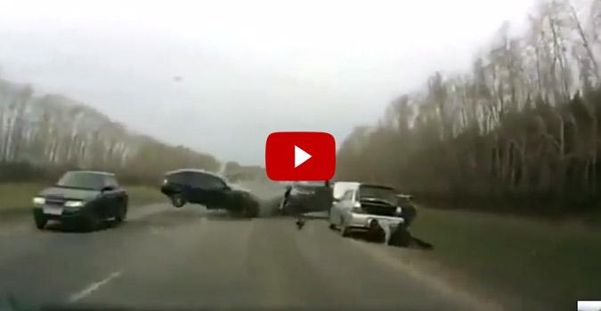 Dodge Lift Kits >> INSANE Car Crash Caught on Tape | 4Wheel Online Blog - Automotive News
