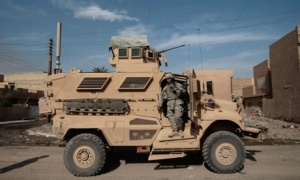 (FILE) First Solider Killed In New MRAP