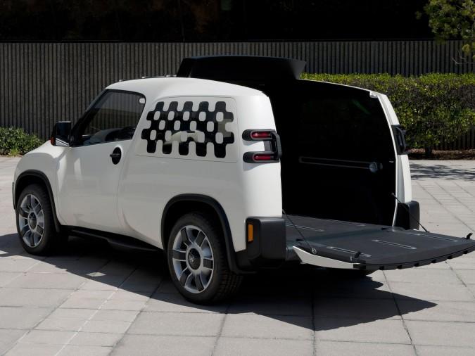 toyota unveils truck cargo van hybrid 4wheel online blog