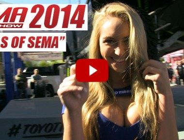 SEMA 2014 models