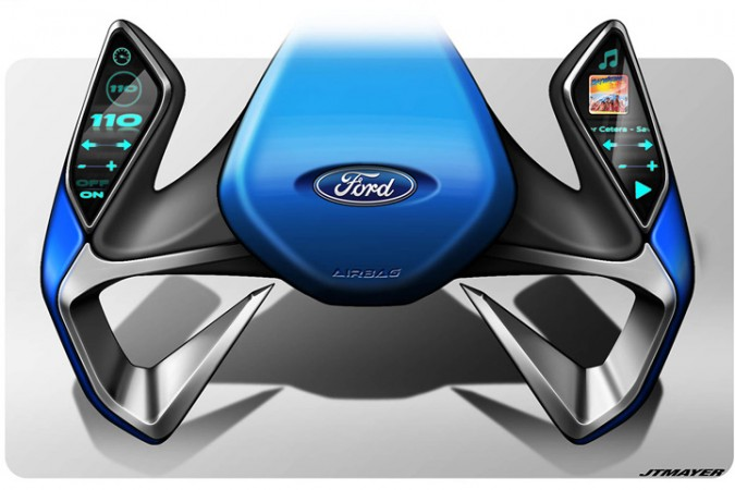 Ford's Steering Wheel of the Future??   4Wheel Online Blog ...