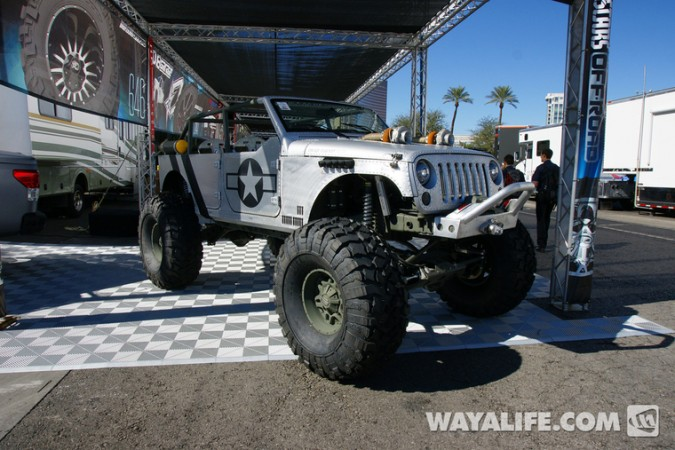 SEMA 2014 Jeep