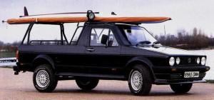 Volkswagen 1980s pick up truck