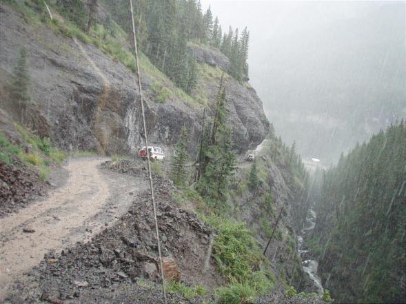 Colorado 0396 07251520 - Sportsmobile Rally - Tuesday Trip - Imogene Pass
