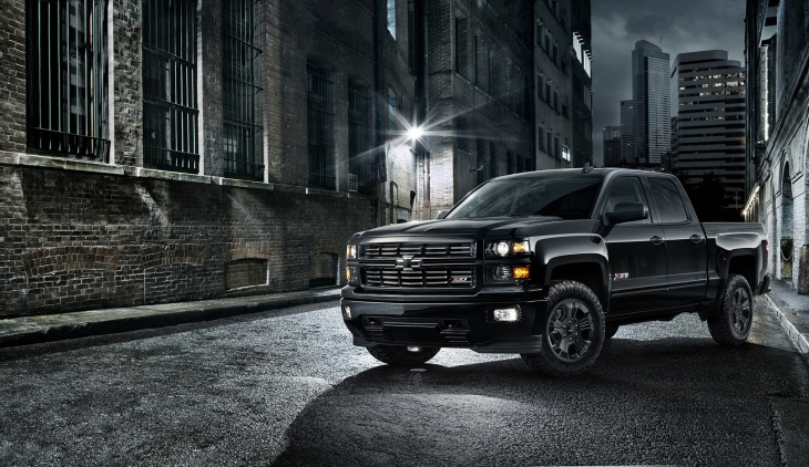 2015 Chevy Silverado Blacked Out