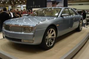 Lincoln's 2002 concept car