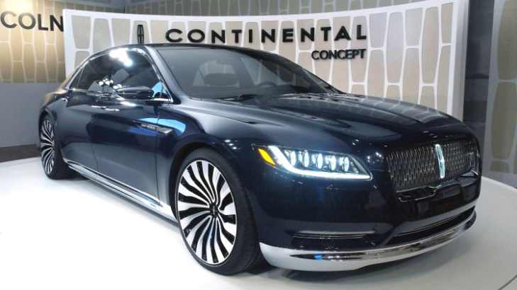 The 2016 Lincoln Continental Concept Just Debuted What Do You Think