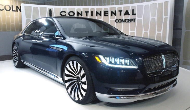 The 2016 Lincoln Continental Concept Just Debuted… What Do You Think ...