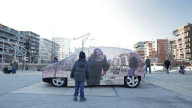 Mercedes Invisible Car