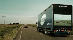 Samsung LCD Screen Truck