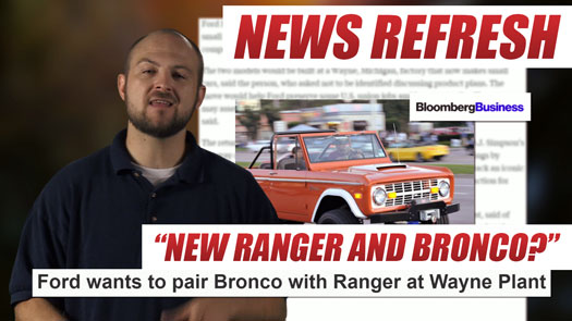 Ford Bronco and Ranger