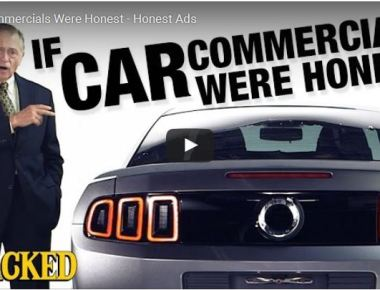 if car commercials were honest