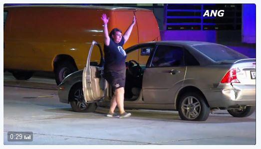 stolen car dancing