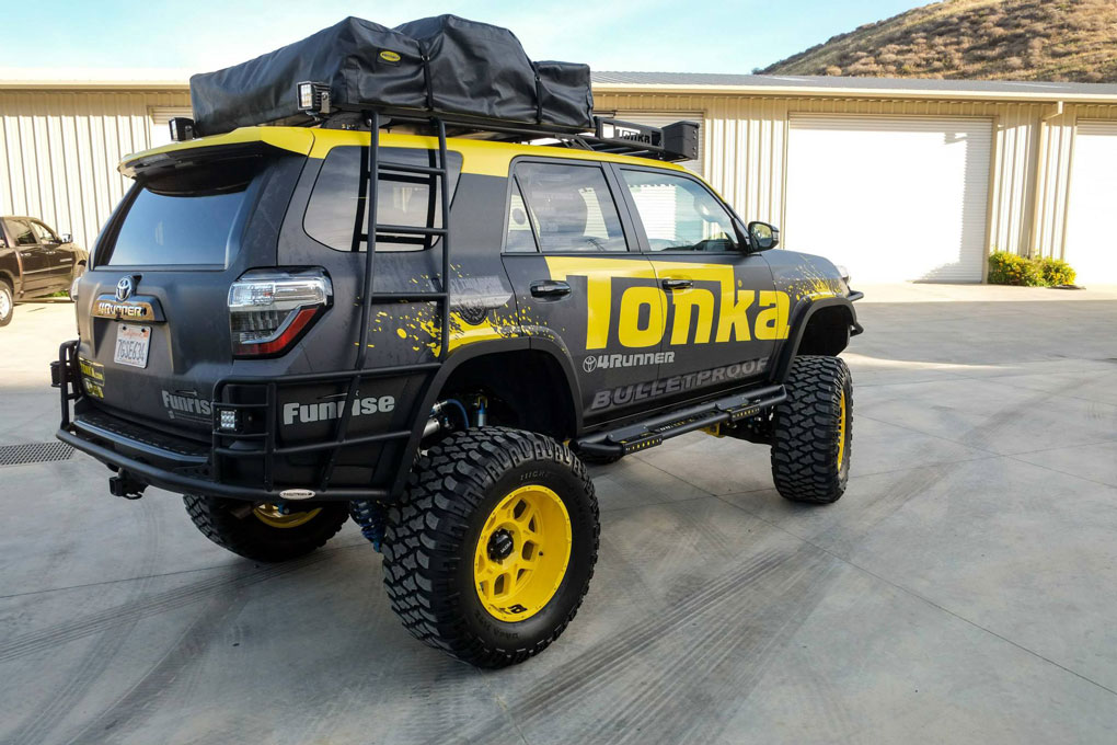 Tonka Customized A 4runner And It Looks So Awesome
