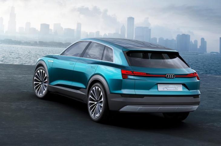 Audi e-tron quattro Rear
