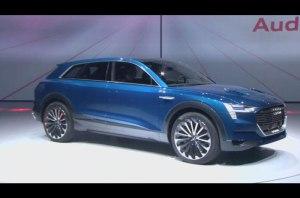 Audi e-tron quattro Side