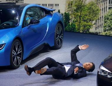 BMW CEO Harald Krueger Collapses