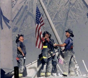 Flag at Ground Zero
