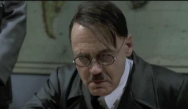 Hitler Reacts
