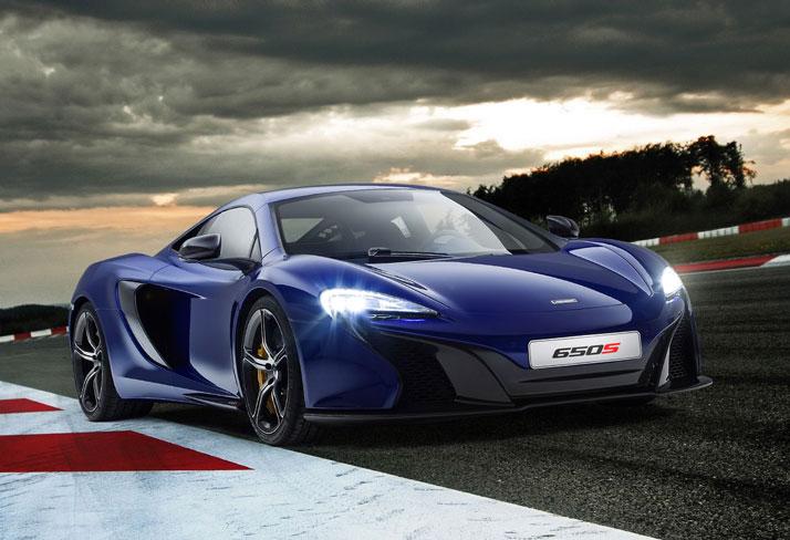 McLaren 650S Front