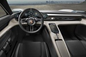 Porsche Mission E Interior 1