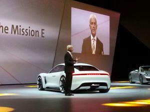Porsche Mission E Reveal