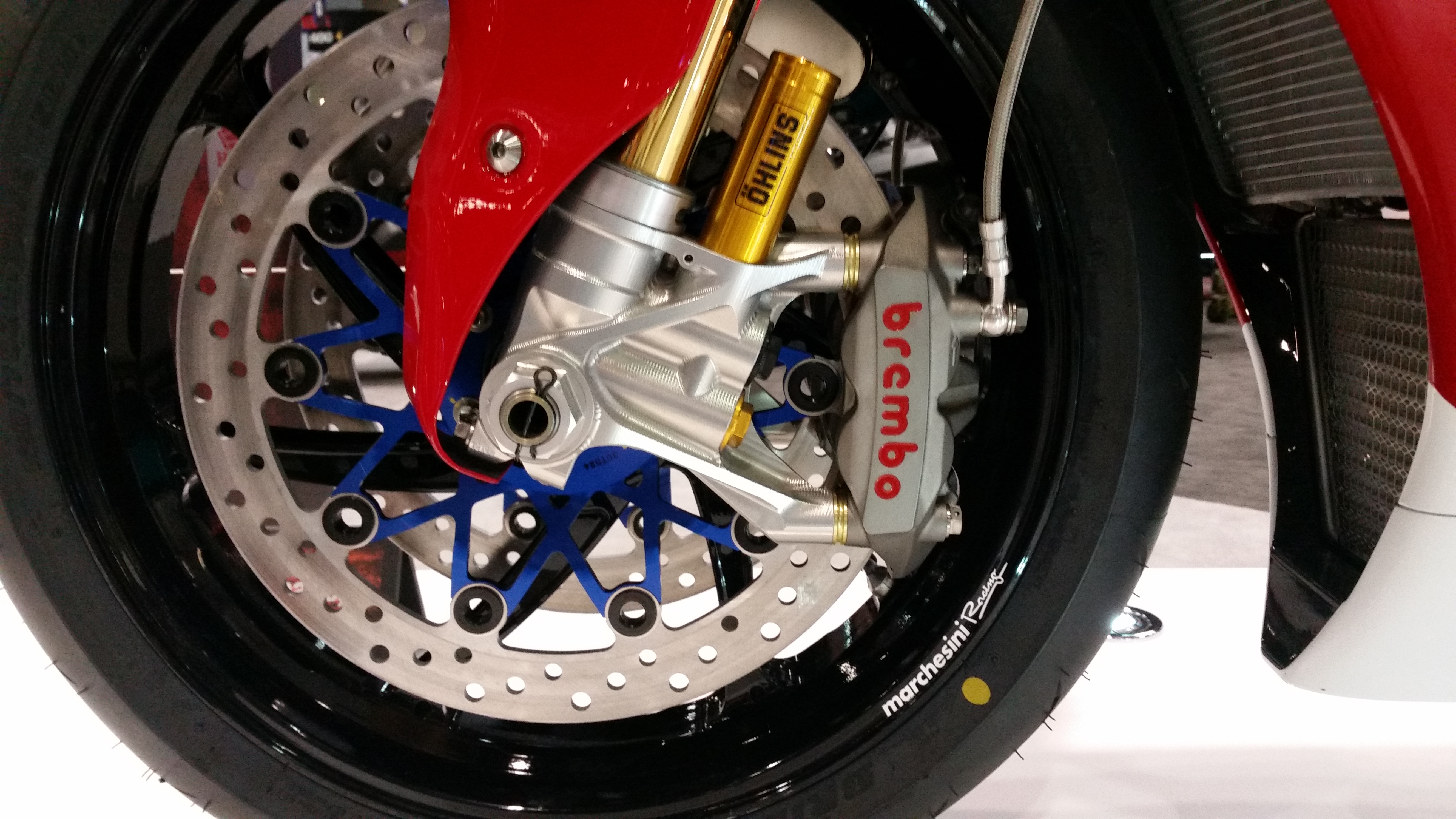 Honda RCV 213 Race Bike