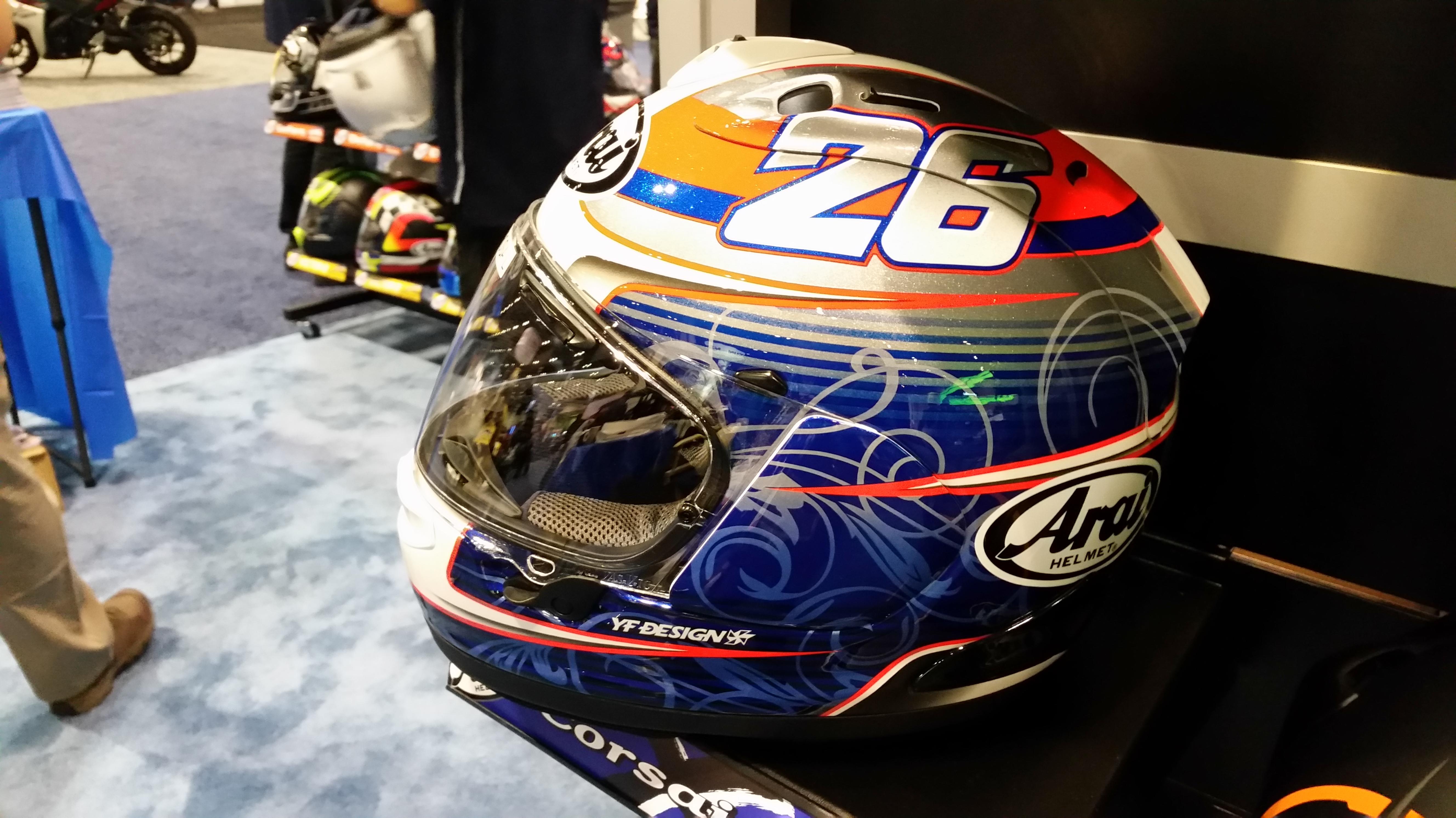 Araih Custom Helmet - Designed by Rider