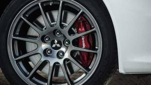 2016 Lancer Evo Final Edition Brakes and Wheels