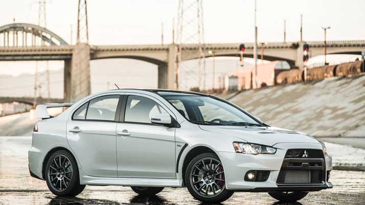 2016 Lancer Evo Final Edition Front Side View