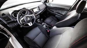 2016 Lancer Evo Final Edition Interior