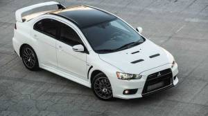2016 Lancer Evo Final Edition Top Front View