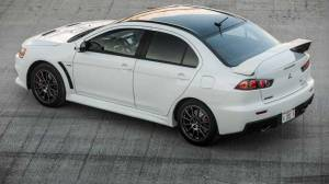 2016 Lancer Evo Final Edition Top Side View