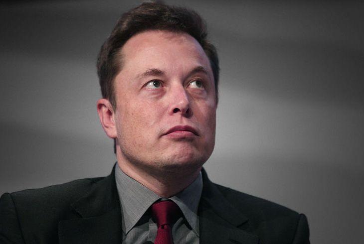 Elin Musk looing not happy