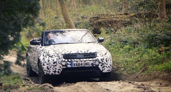 2016 Range Rover Evoque Convertible 3