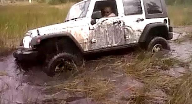 Stuck Jeep