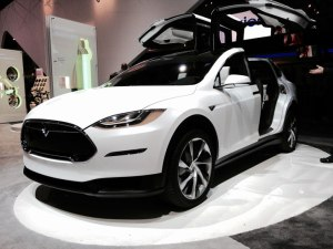 Tesla Model X front view