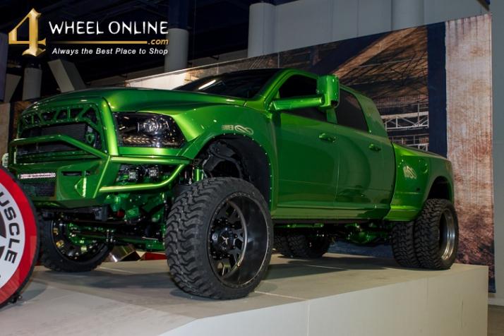 Coolest Trucks Of Sema 2015 4wheel Online Blog