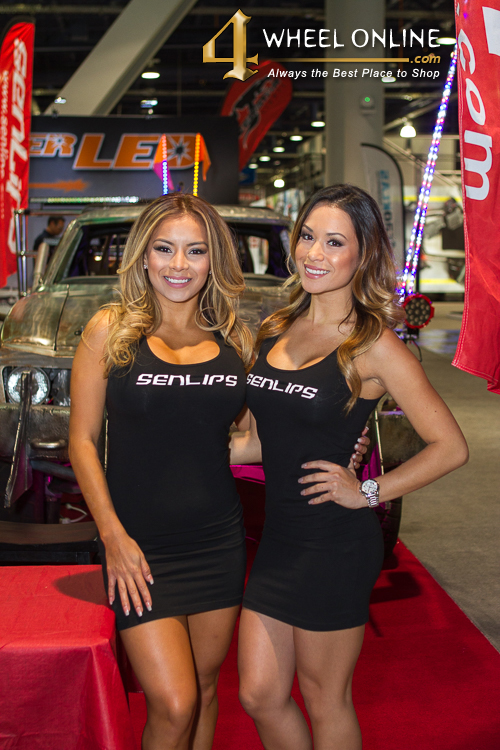 Girls of SEMA 2015