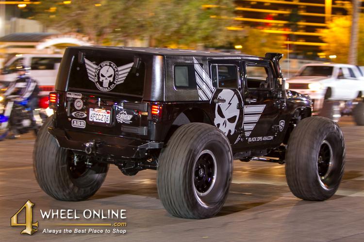 SEMA 2015 Big Jeep
