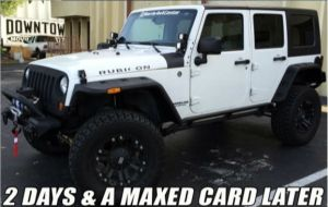 Finished Jeep