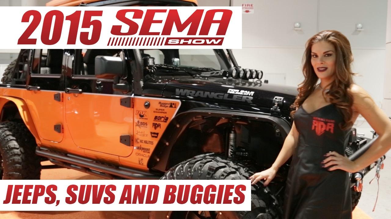 Jeeps, SUVs, and Buggies at SEMA 2015