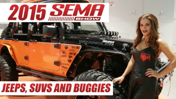 2015 SEMA Jeeps, Suvs, and Buggys
