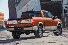 NEW YORK (March 24, 2016) – Nissan today previewed the upcoming TITAN Crew Cab half-ton pickup, which arrives at Nissan dealers nationwide this summer, at the 2016 New York International Auto Show. The standard bearer of Nissan's family of TITAN pickups, the 2017 TITAN Crew Cab is powered by a new 390-horsepower 5.6-liter Endurance® V8 gasoline engine.