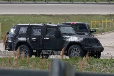 New 2018 Jeep JL Wrangler Spy Photo Blog Image