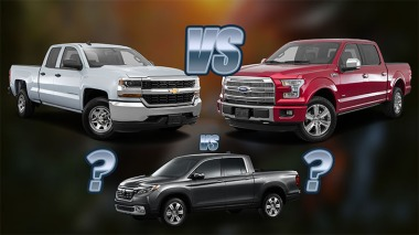 Truck Bed Battle Ford F-150 vs Chevrolet Silverado vs Honda Ridgeline blog image